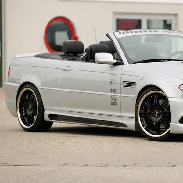 Sivuhelmat  BMW E46