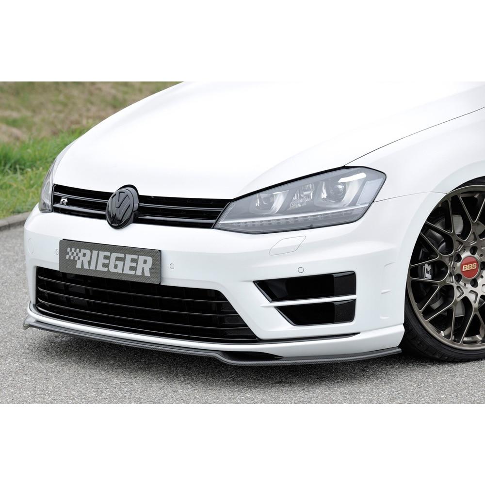 Frontläpp nedre kolfiber VW Golf 7 R