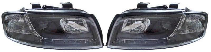 Devileyes Ajovalot LEDI Musta Audi A4