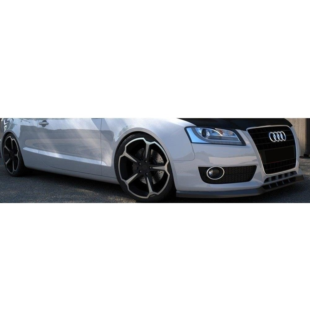 Kiiltävänmusta cupspoiler eteen  Audi A5
