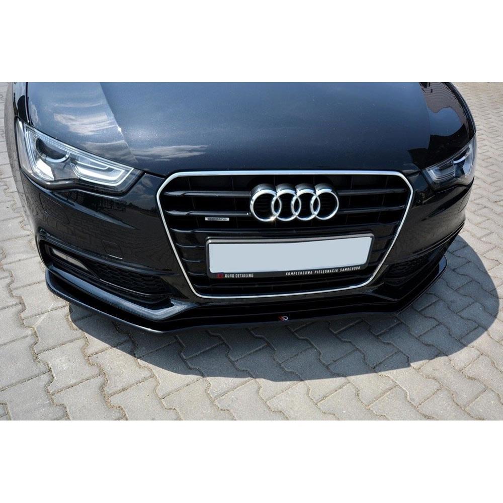 Kiiltävänmusta cupspoiler eteen  Audi A5/S5