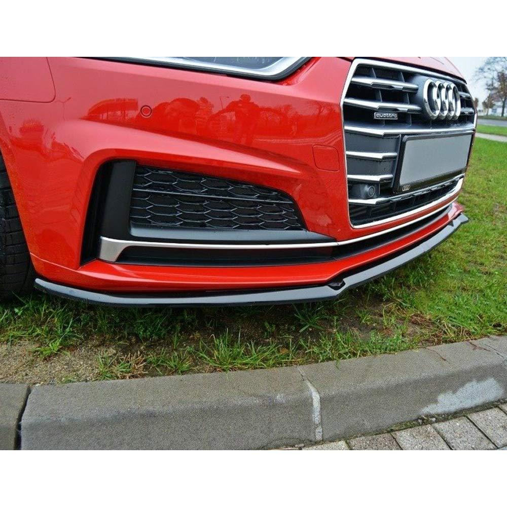 Kiiltävänmusta cupspoiler eteen  Audi Coupe / Sportback