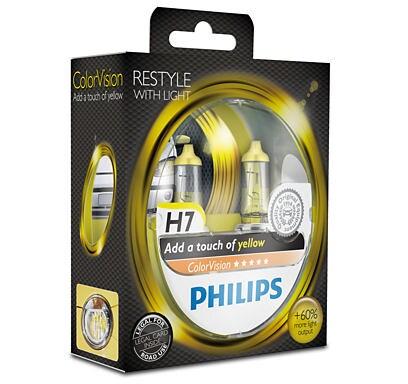 H7 Color Vision keltaiset lamput