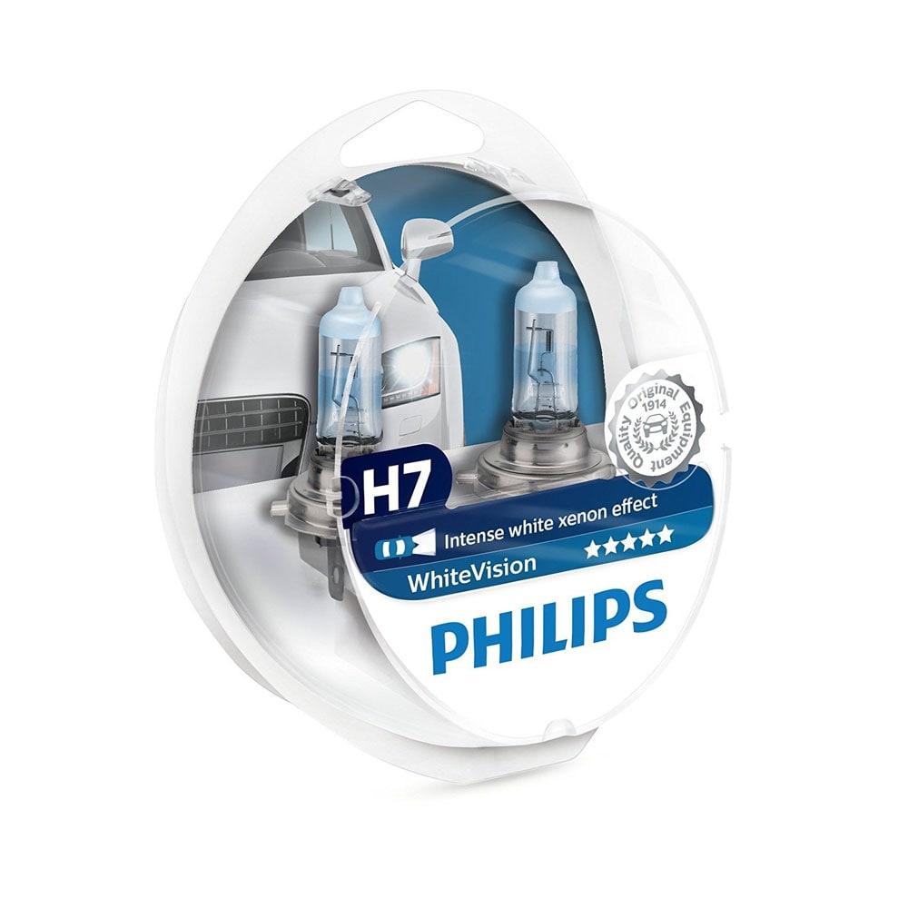 H7 Philips Valkoinen Vision Voimakas Xenon