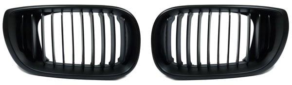 E46 4ov etumaski musta