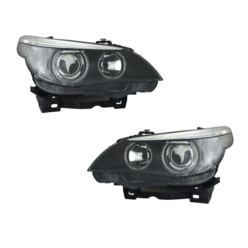 BMW E60 & E61 CCFL Angel Eyes ajovalot