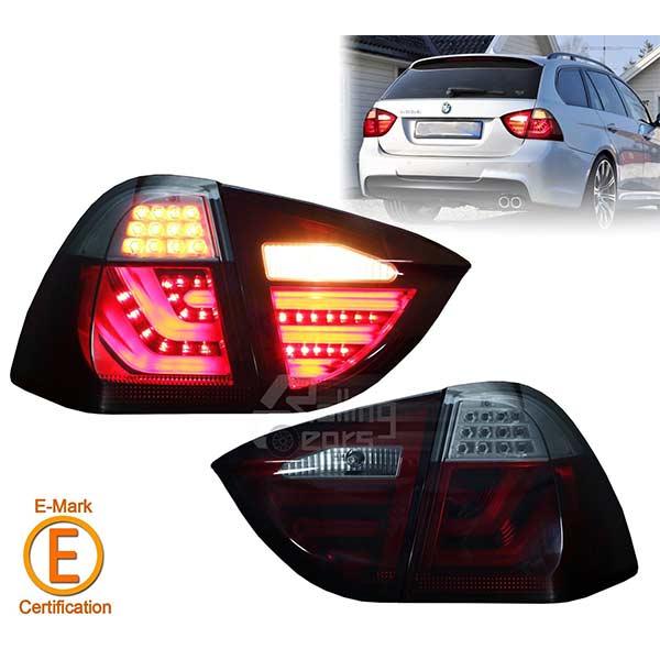 TFL Takalamput  Punainen/kirkas BMW E91 Touring