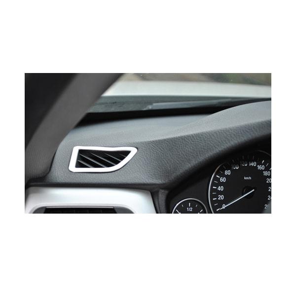 Kromipaneeli ylemmän ilmastoinnin eteen  BMW F30/F31