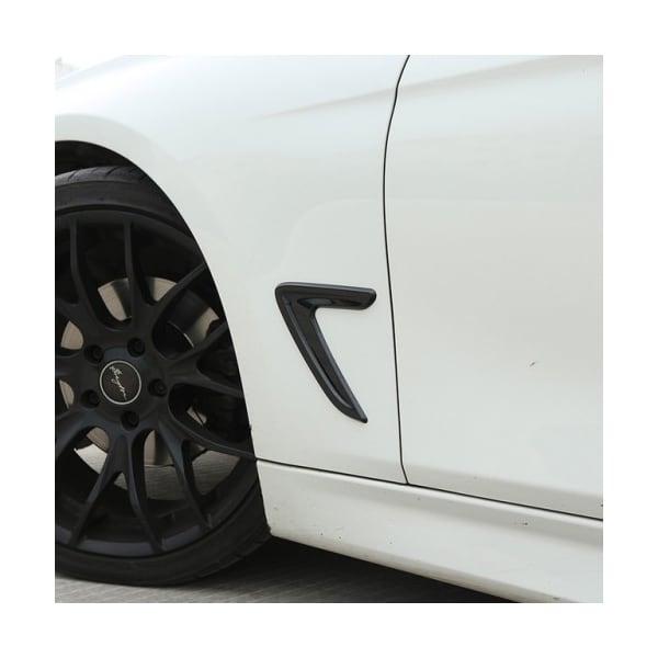 Kiiltävän mustat koristelistat  BMW F30/F31
