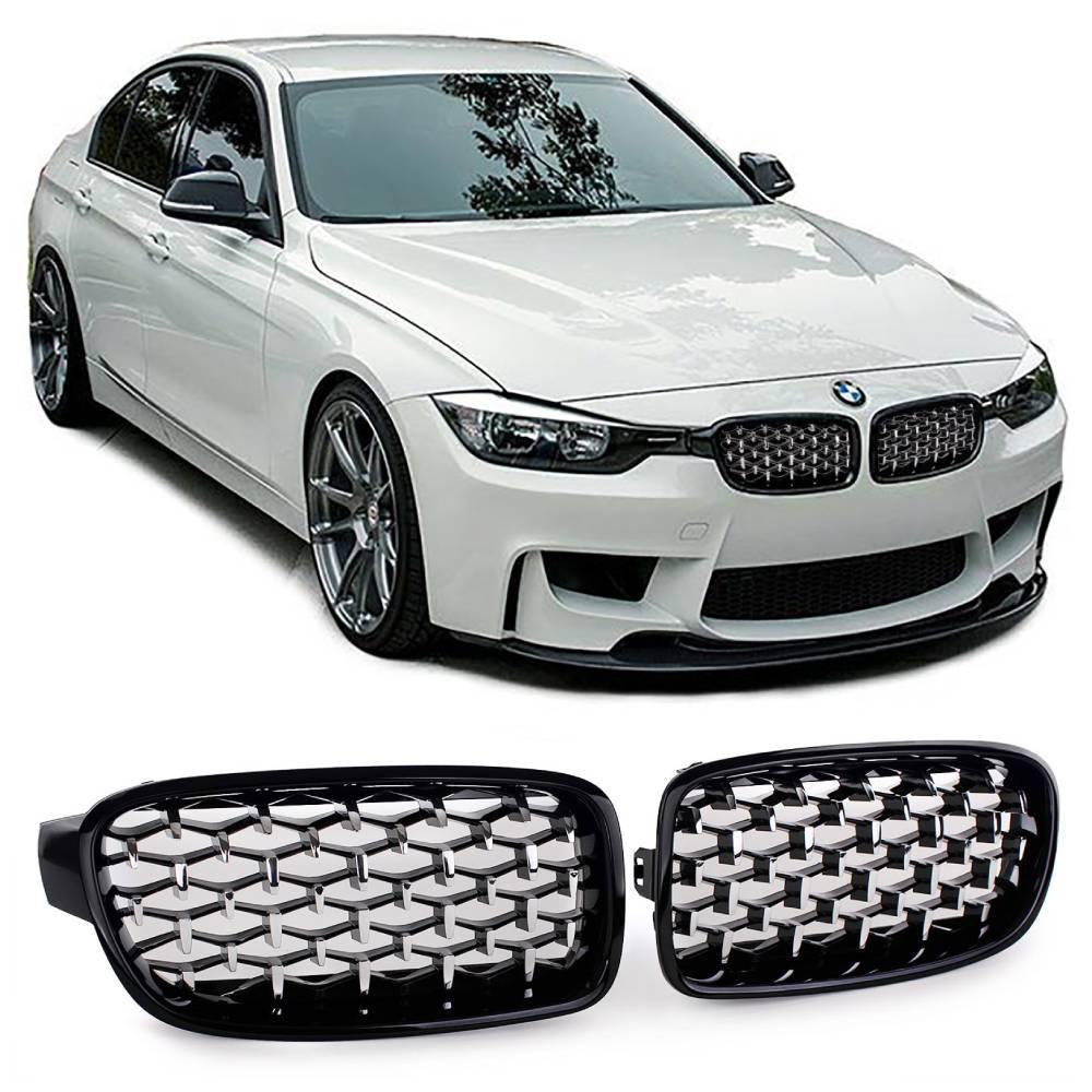 Kiiltävänmustat munuaiset BMW F30/F31