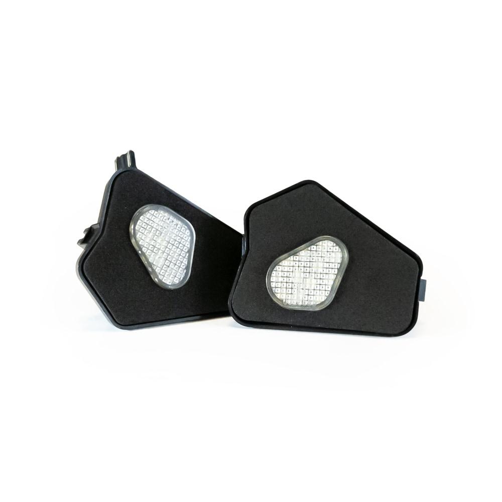 LED Markbelysning under backspegel