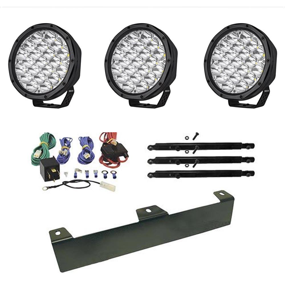 Lisävalo LED Swedstuff 7´ 65W