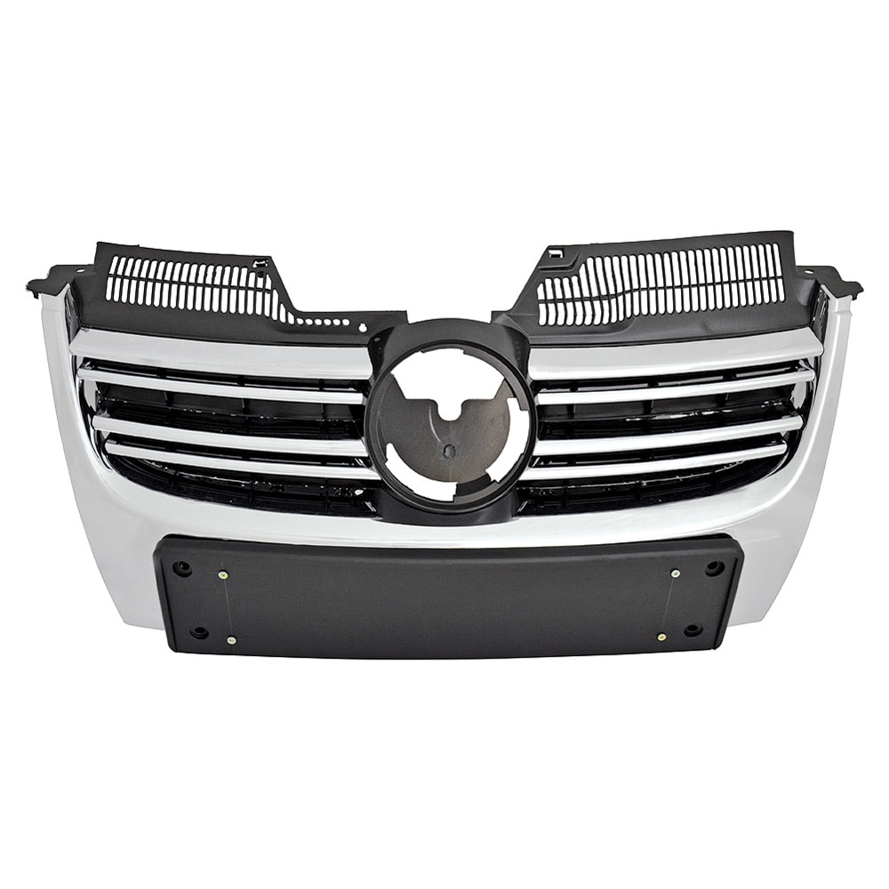 chromed grill for VW without PDC holders