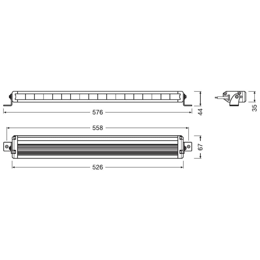 Lightbar VX500-SP Spot