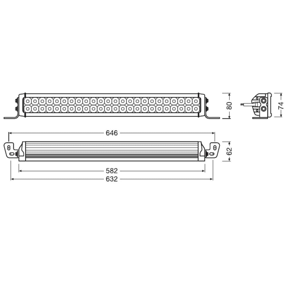 Lightbar VX500-CB Combo