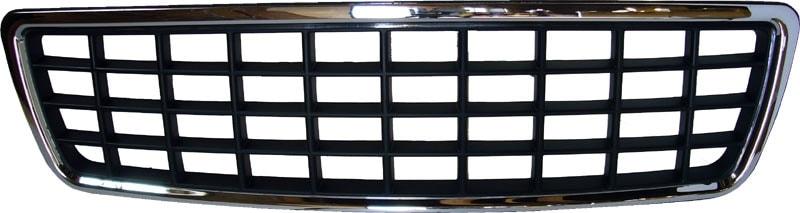 XC-Etumaski Kromi  Musta Volvo