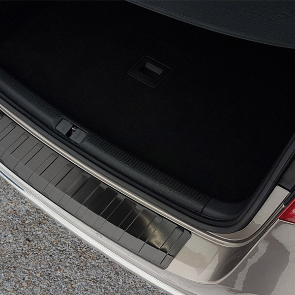 Puskurin suoja pelti musta harjattu teräs VW Passat B7 Variant