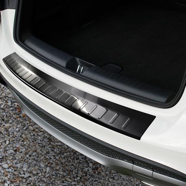 Puskurin suoja pelti musta harjattu teräs Mercedes GLA