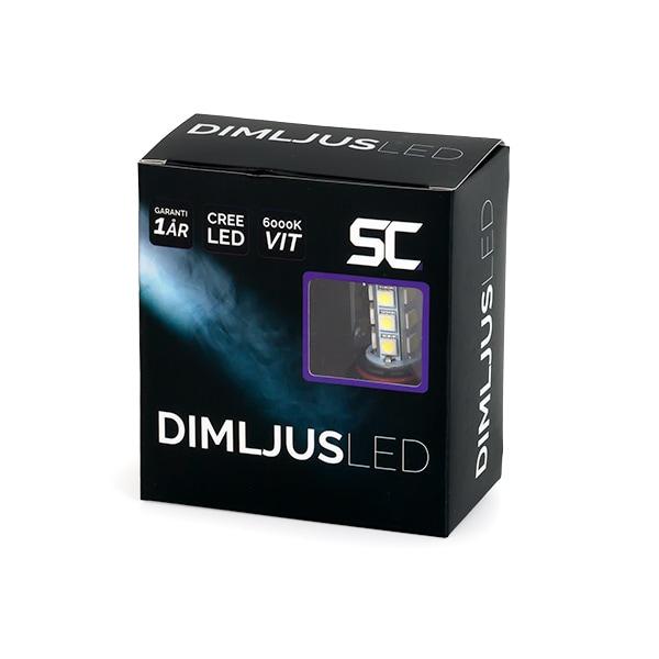 HB4 LED Diod Lamput 6000K