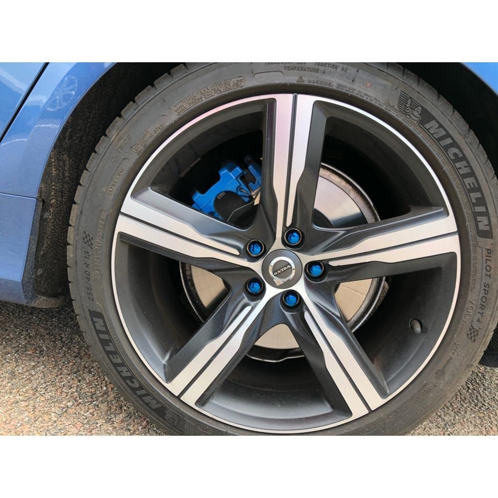 Jarrusatulan väri GT-sininen 2-komponentti