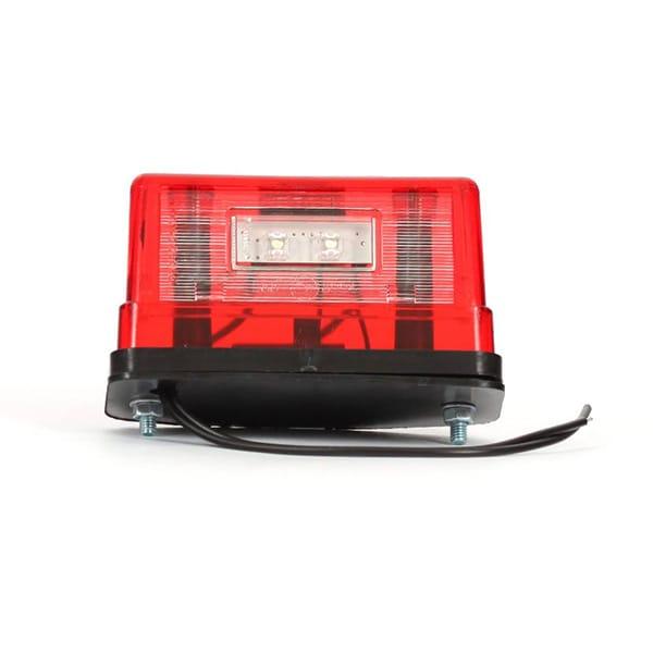 LED Pysäköintivalo punainen 12-24V