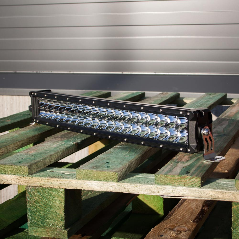 LEDI-ramppi Vega tuplarivinen 56cm (Kombo) - SC