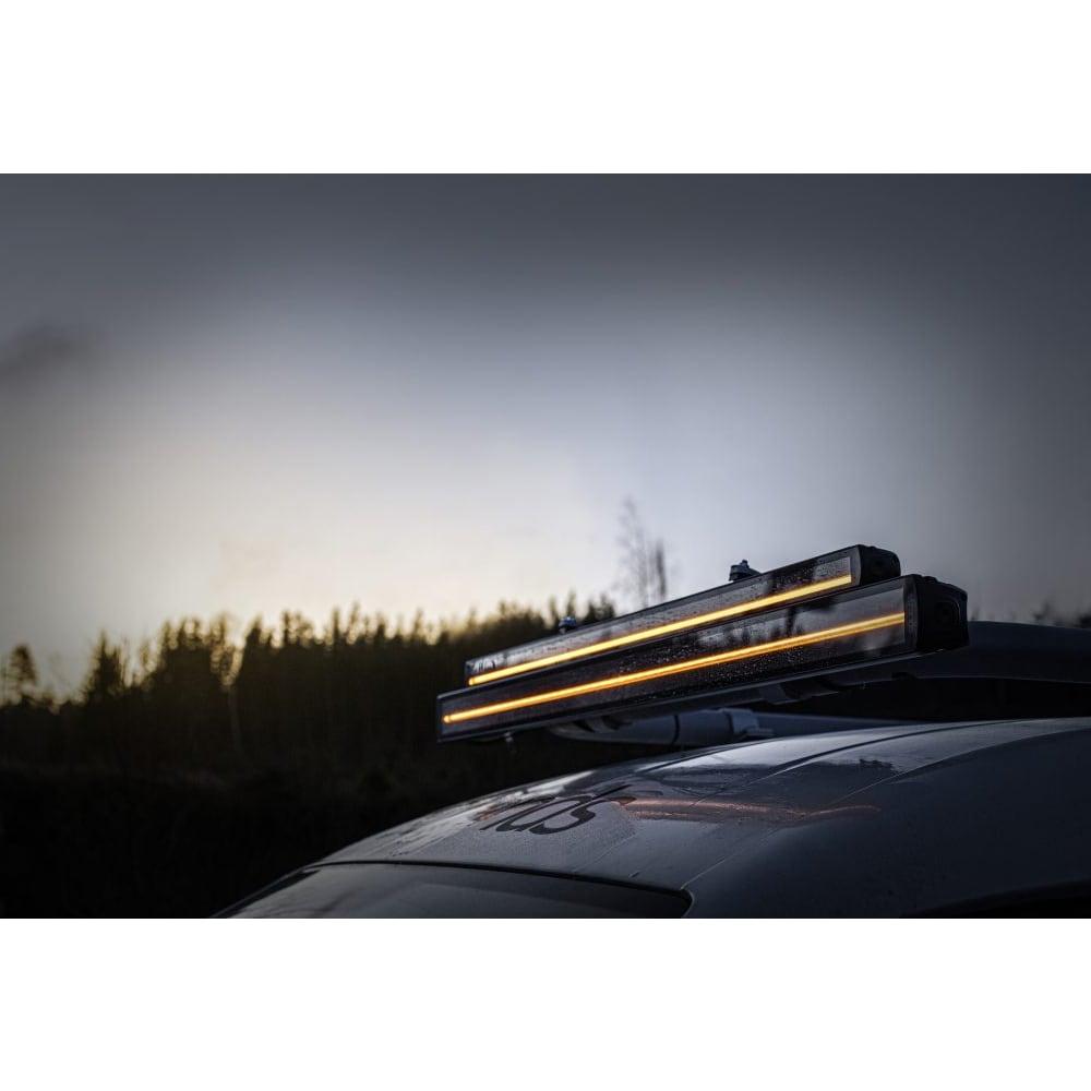 LEDI-ramppi Siberia tuplarivinen 56cm (Kombo)