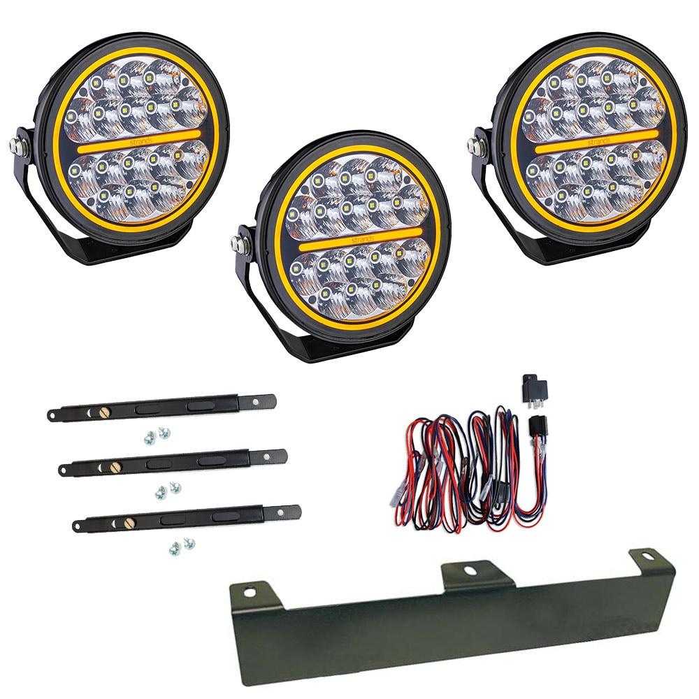 3-pakkaus  Lisävalo  Siberia Night Ranger 7´ LED - SLD