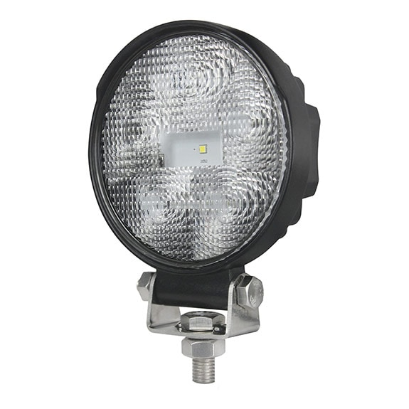 LEDI työvalolamppu 9W pyöreä