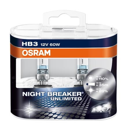 Osram HB3 / 9005 Nightbreaker Unlimited