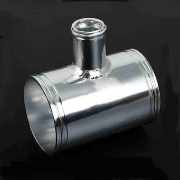 Aluminiumrör m. T-koppling för 25mm dumpanslutning