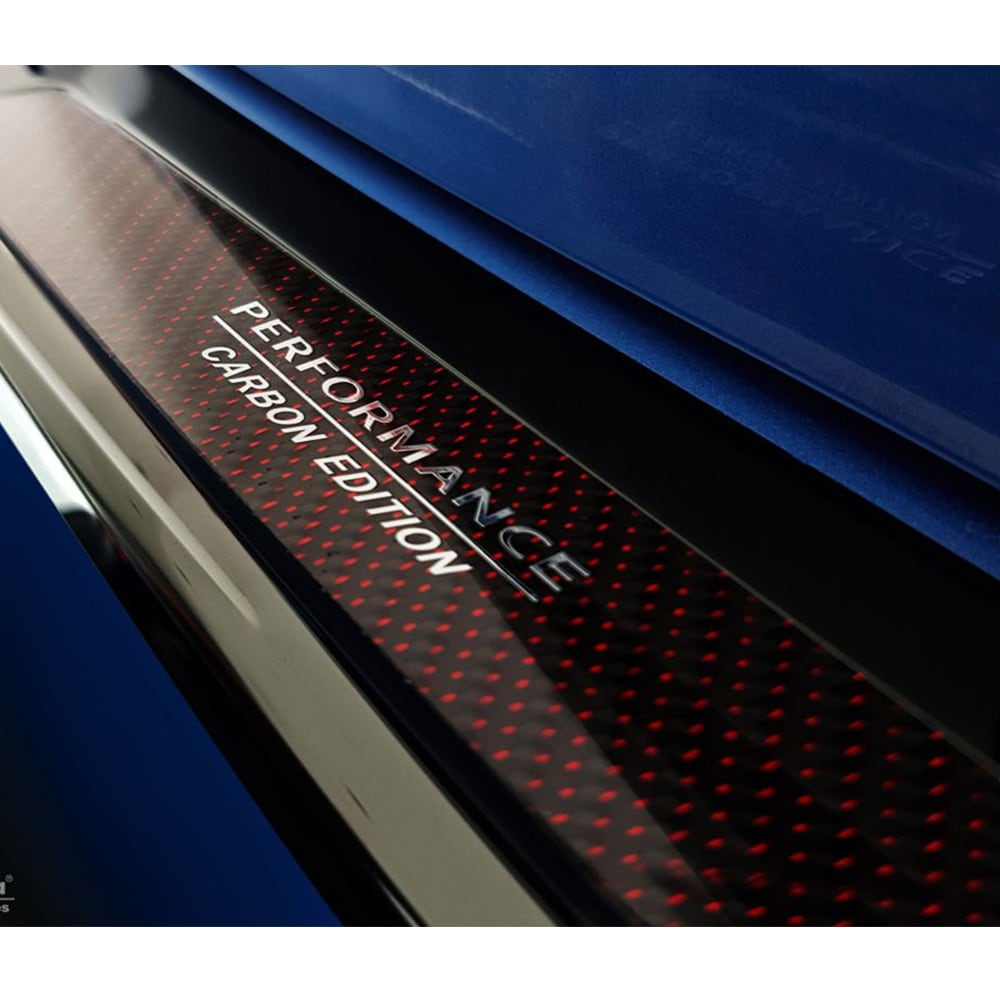 Puskurin suoja pelti hiilikuitu BMW X1 F48