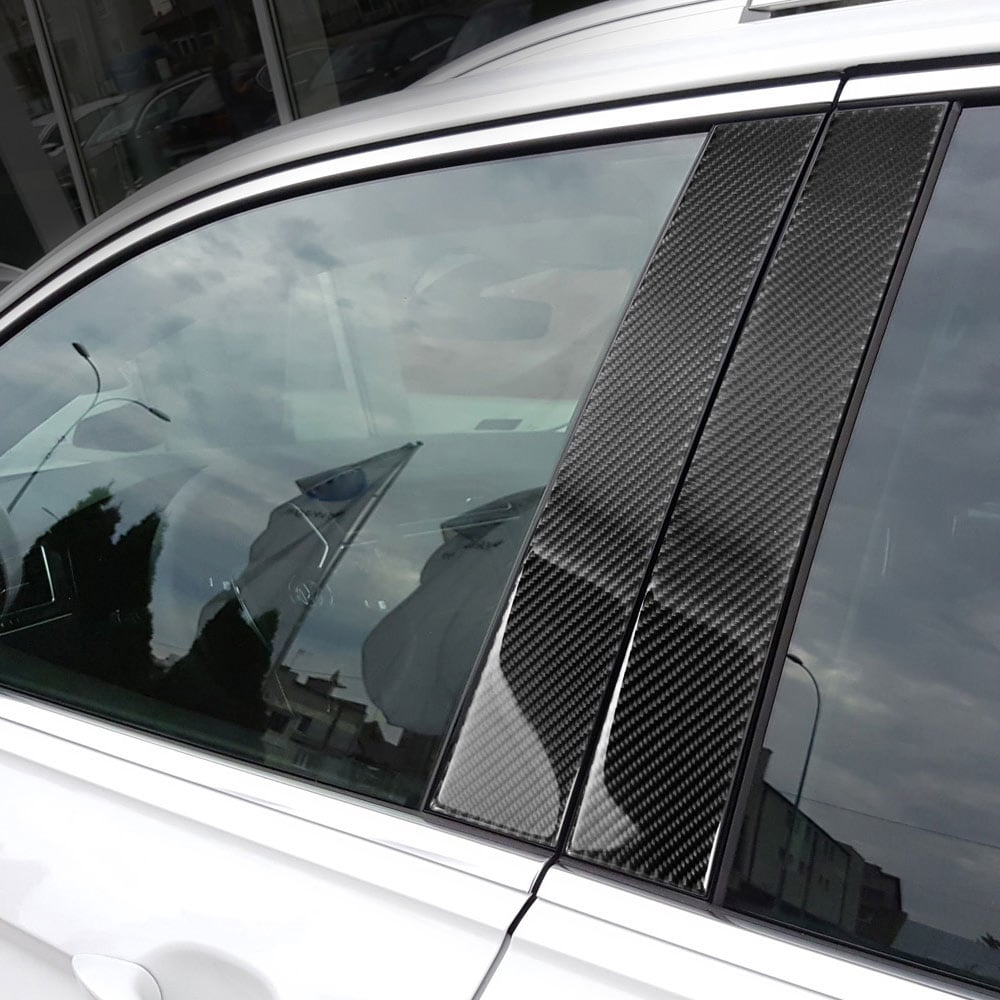 Hiilikuitupaneeli B-tolppaan  VW Tiguan
