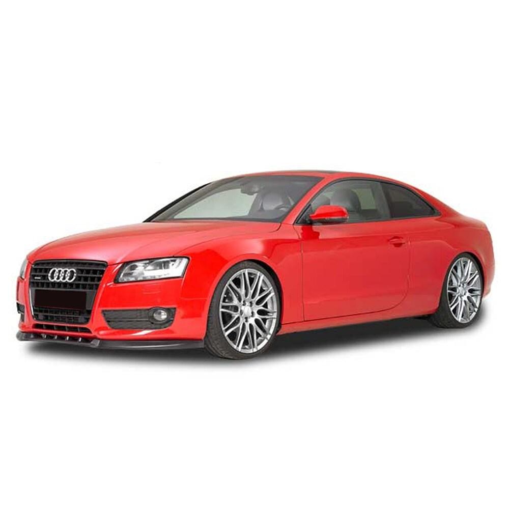 Mattamusta Cupspoiler eteen Audi A5 ei S-line