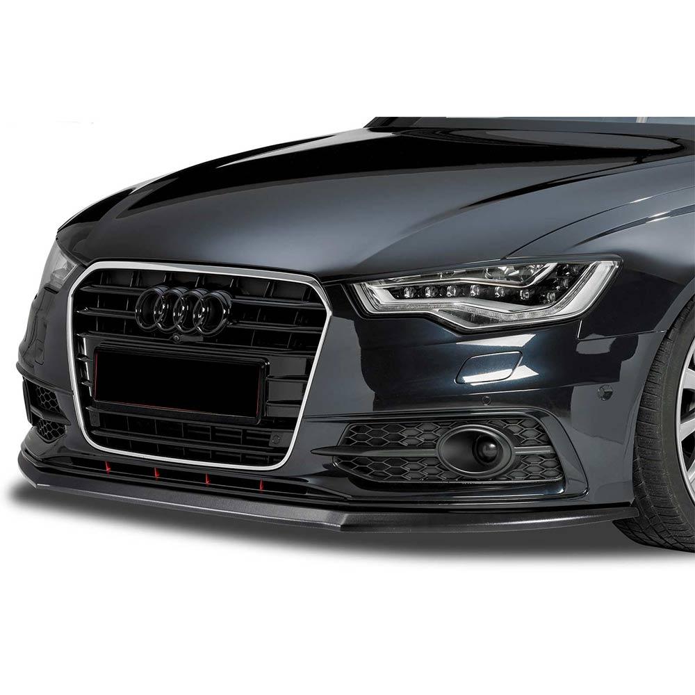 Mattamusta Cupspoiler eteen Audi A6 4G