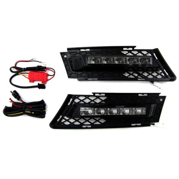 DRL LED Ljus kit R87 hyväksytty BMW E90