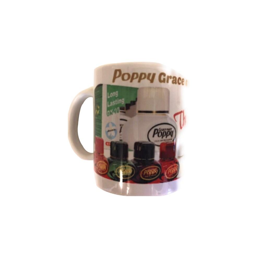 Poppy kahvi muki