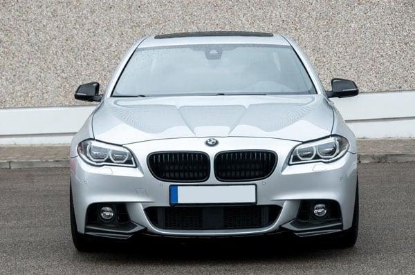 Splitteri puskuri eteen BMW F10 / F11