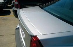 Siipi Spoileri huuli Takaluukku Volvo S60