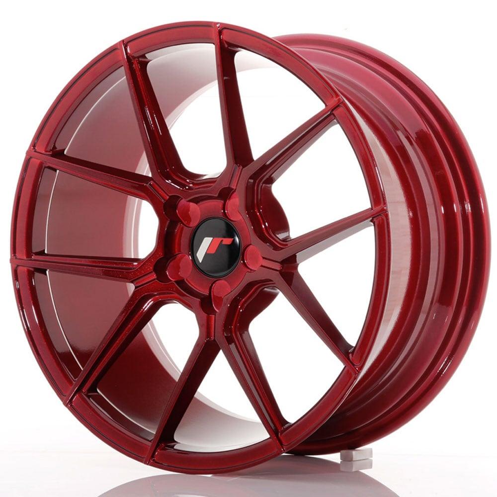 JR30 Platinum Red Vannepaketti