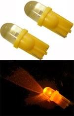 LED Lamppu oranssi