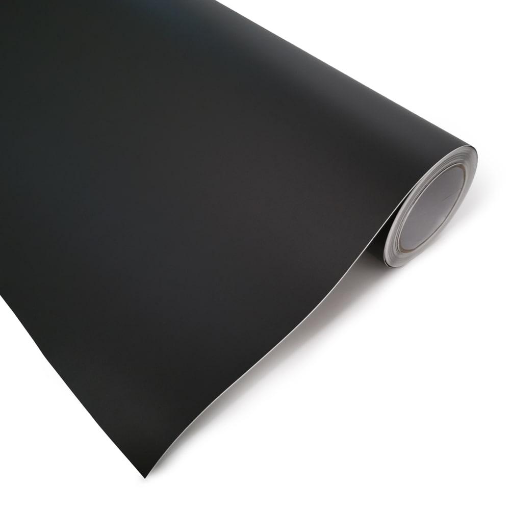 Mattamusta vinyyli foliokalvo  1,52x30meter