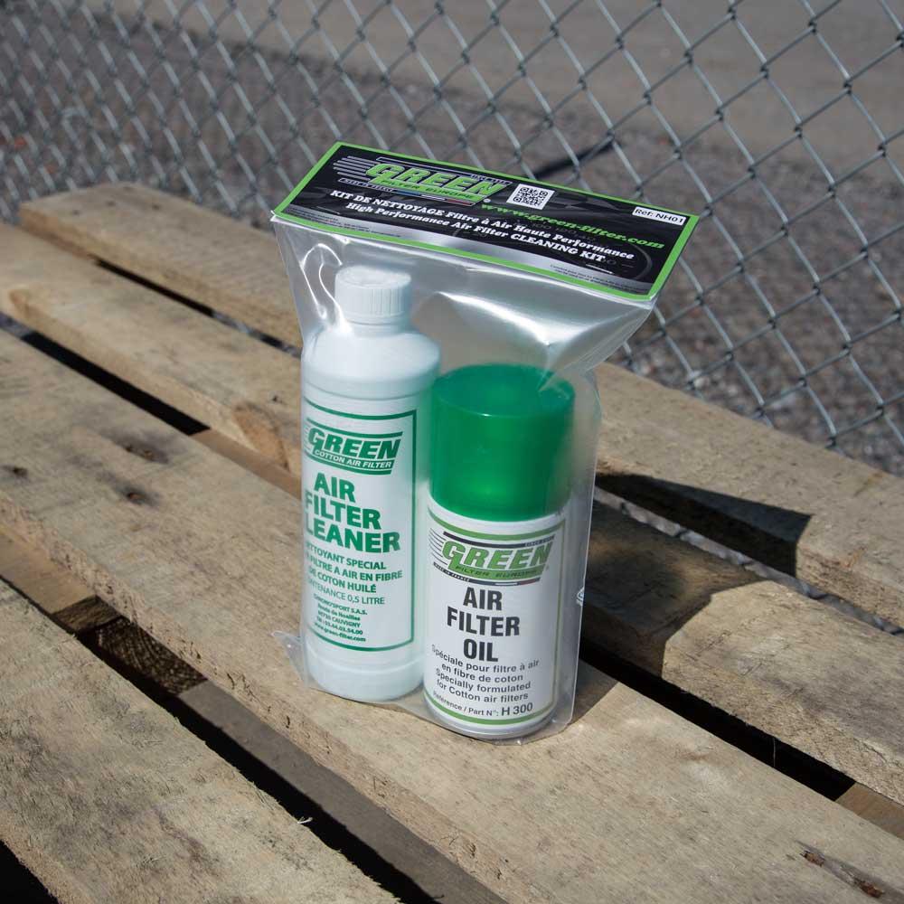Green Filterin puhdistussetti ilman suodattimelle