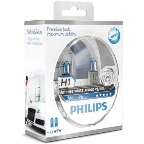 H1 Philips White Vision Intense effect