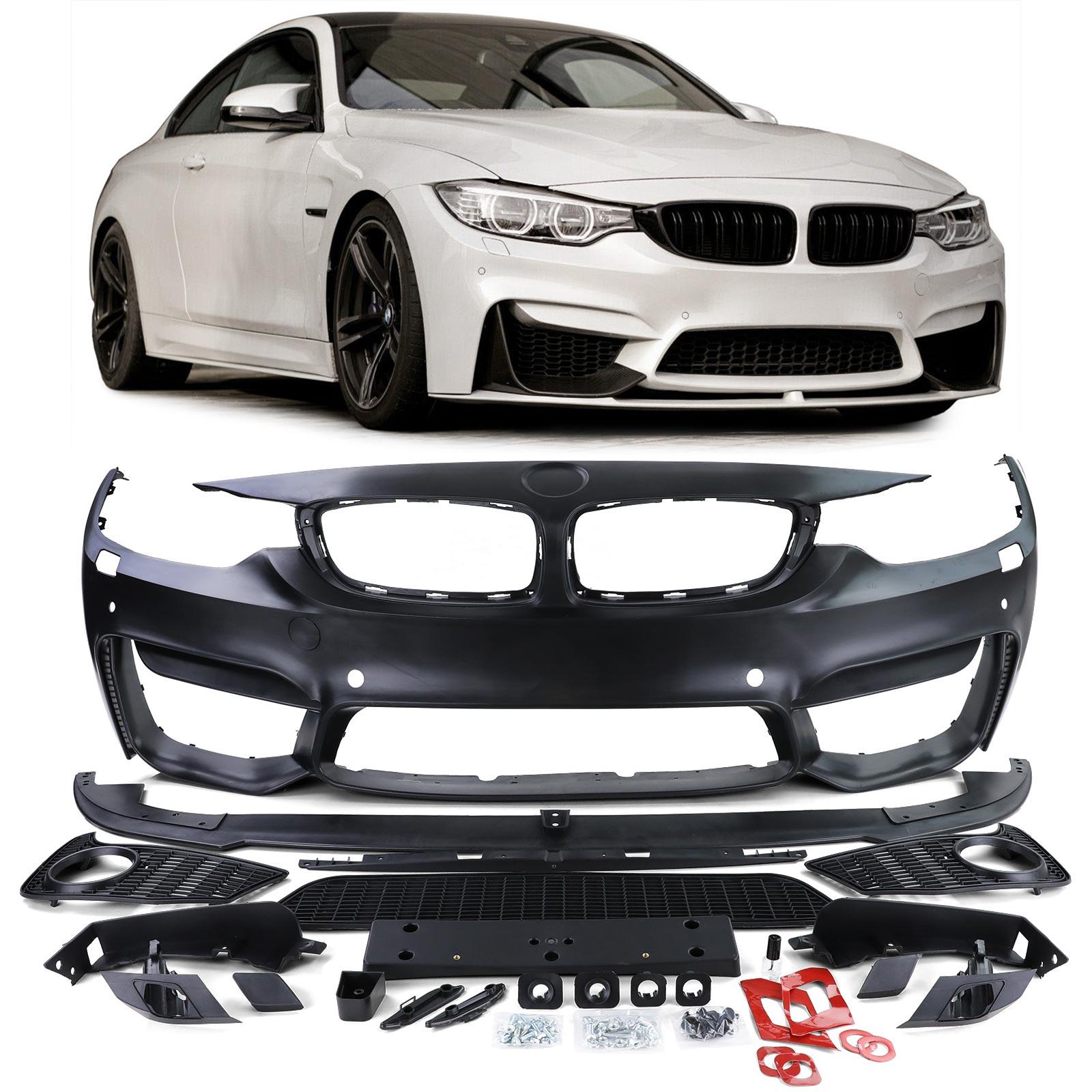 Puskuri edessä BMW 4-Serie