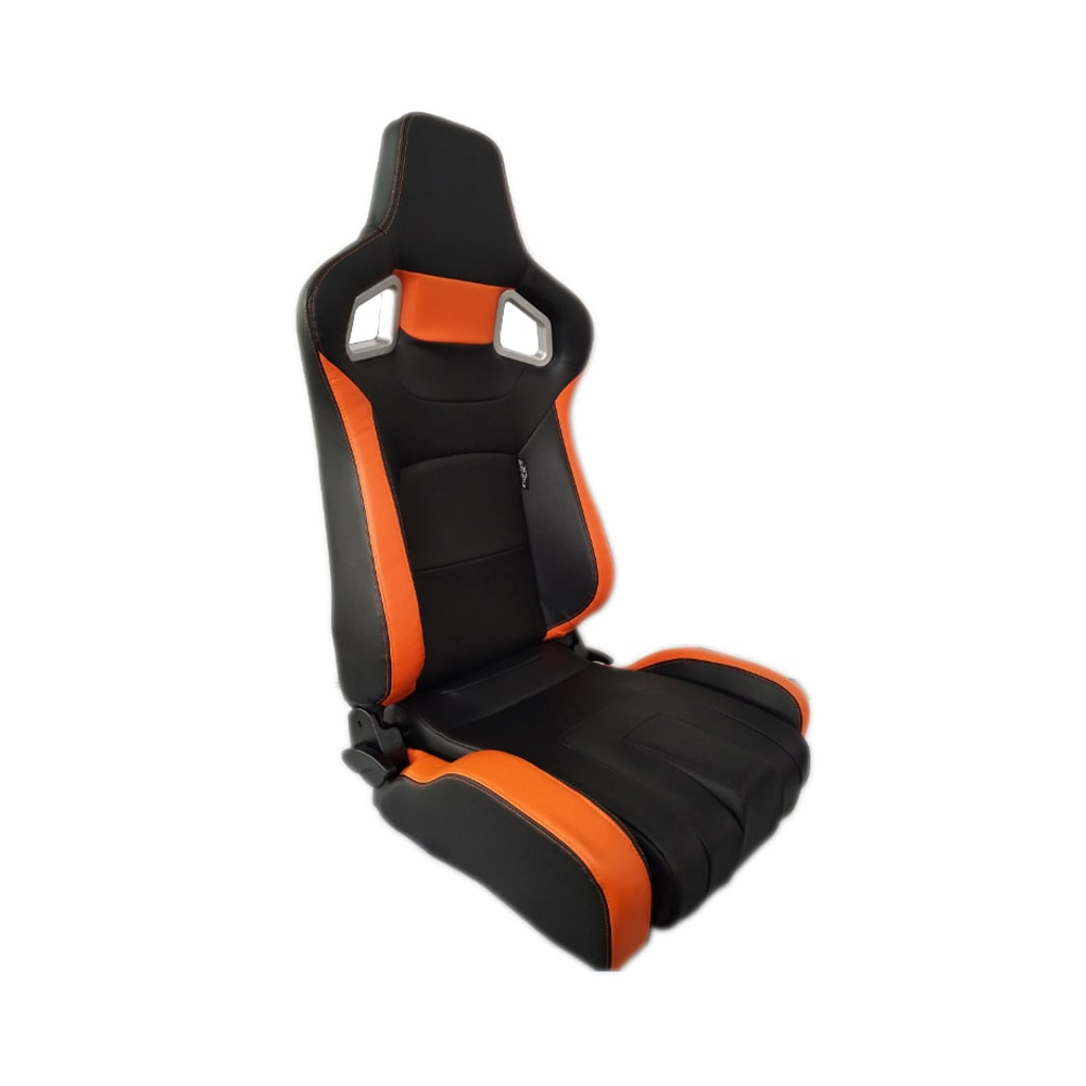 SportPenkki Type RS6-II PU Musta/Oranssi