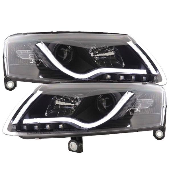 Ajovalot Mustat Tube lights Audi A6