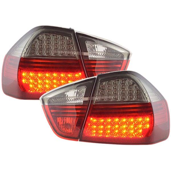 LEDI Takalamput Punainen Mustat BMW E90