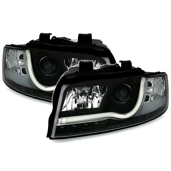 Ajovalot LED Mustat Audi A4