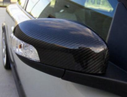 Hiilikuitu peilin kuoret Volvo